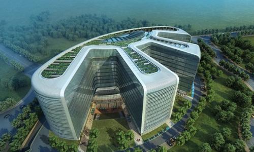 龙子湖创意园孵化器大楼
